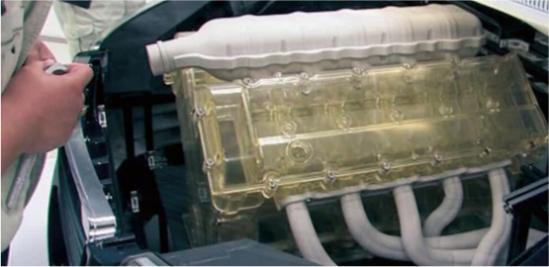 エンジン組付検討モデル