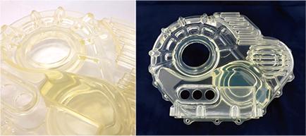独自開発材料:耐熱170℃ ガラス入り6ナイロン材料