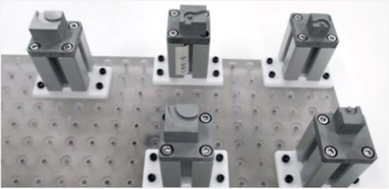 量産冶具 生産ライン受け冶具
