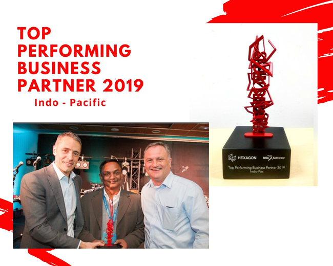 SOLIZE India Technologies Private Limited awarded 'Top Performing Business Partner 2019 –Indo-Pacific' at MSC Software Kick-off Meeting